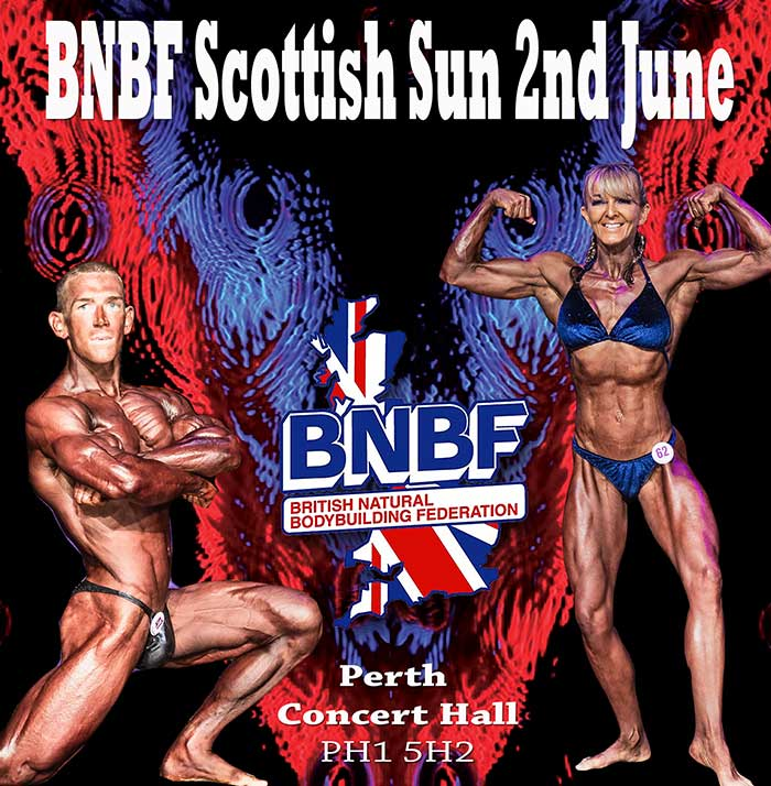 british natural bodybuilding federation events
